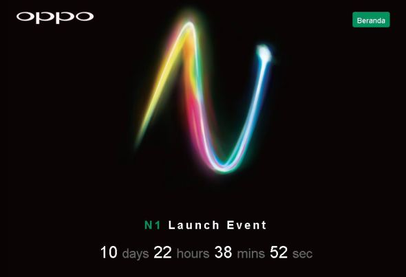 LAUCHING DI INDONESIA OPPO N1